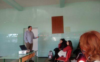 Predavanje u Srednjoj tehničkoj školi u Vrbasu